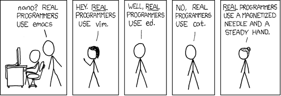 real programmers use